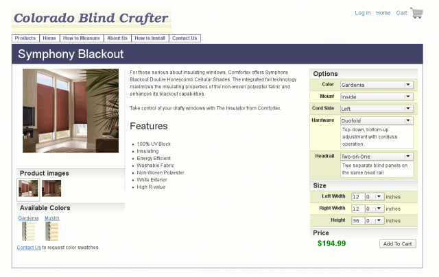 Colorado Blind Crafter